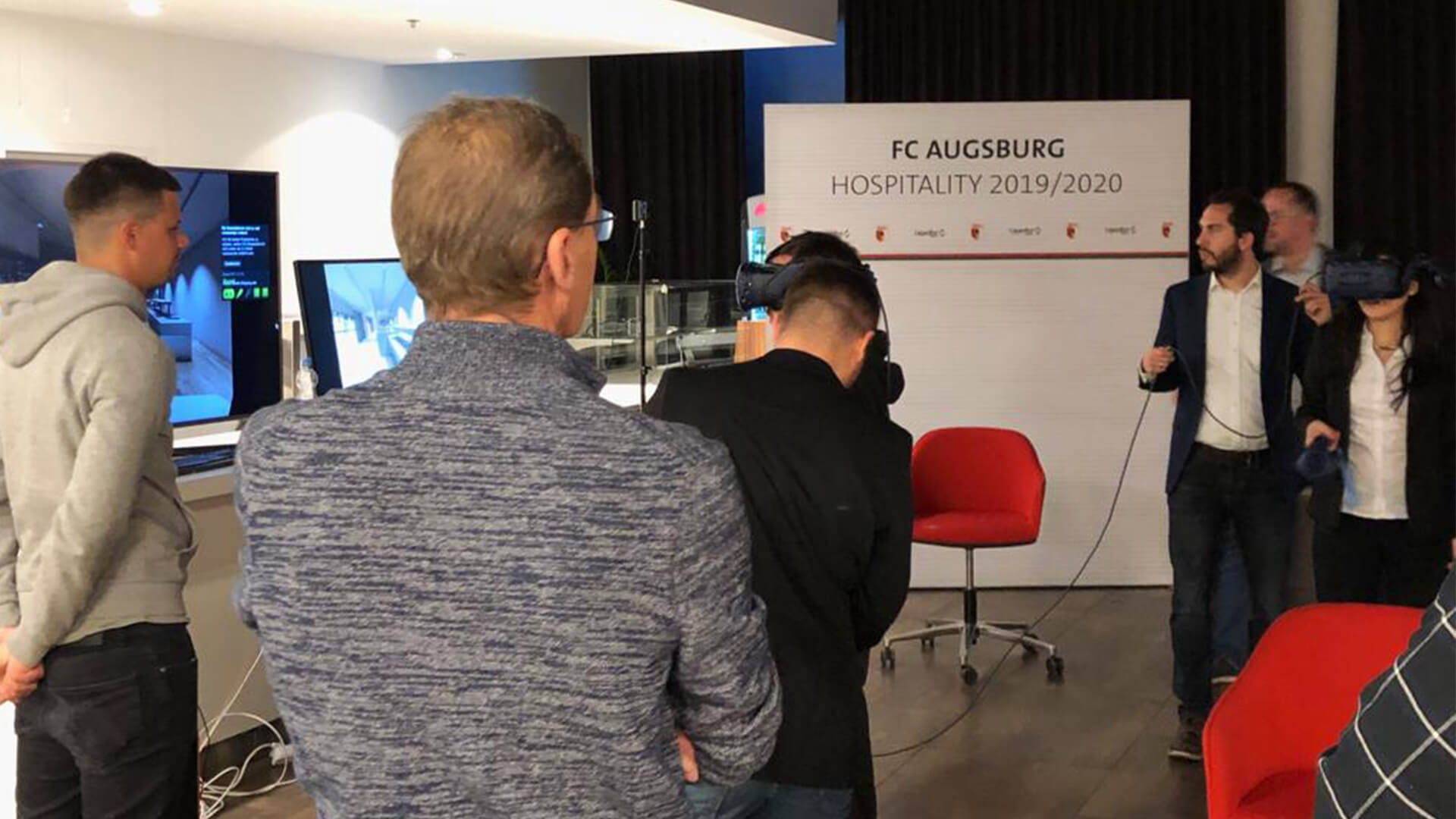 fc augsburg vip virtual reality technology
