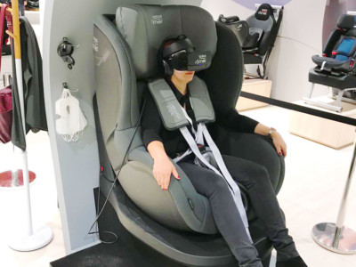 virtual reality application car seat